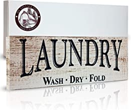 MyVintageFinds Laundry Signs, Farmhouse Laundry Room Decor, Made in America.
