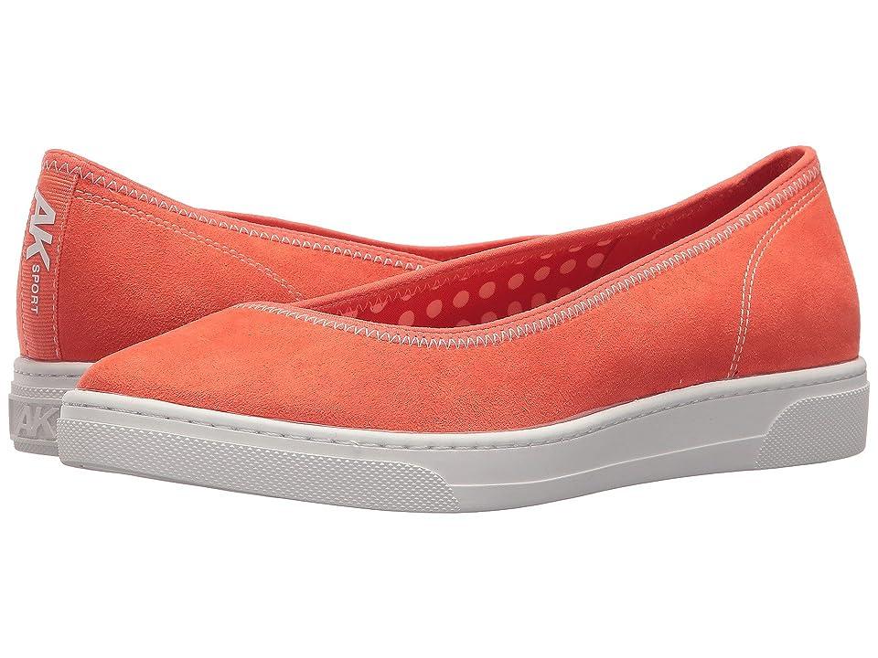 Anne Klein Overthetop (Orange/Orange/White Fabric) Women