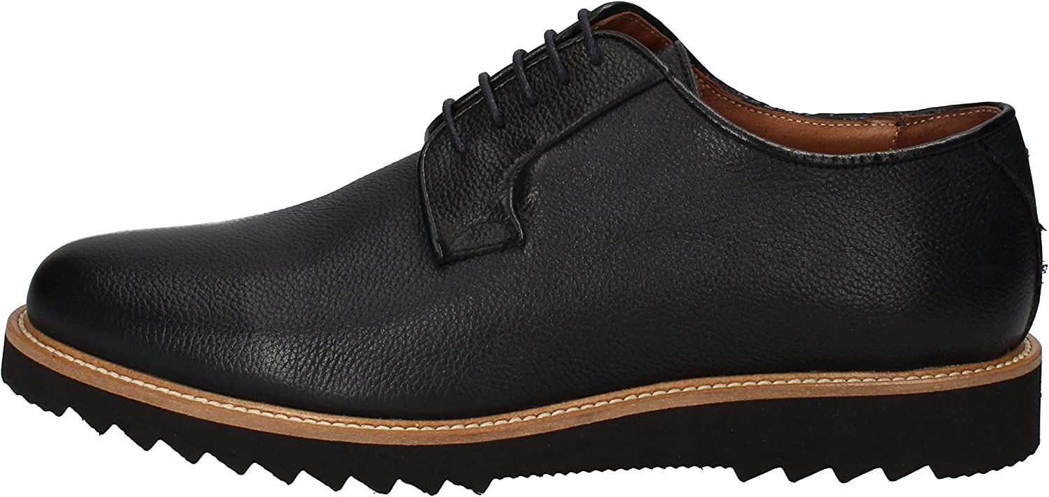 REPORTER Oxfords-shoes Mens Leather bluee