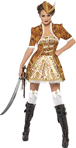Smiffys - Costume Steam Sexy Pirate Taille M