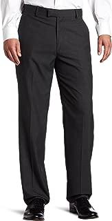 Haggar Men's Textured-Pinstripe Tailored-Fit Plain-Front Suit Separate Pant