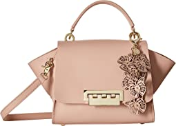 Eartha Iconic Top-Handle Crossbody with Butterfly Charm
