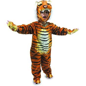 """small foot 5630 Kinderkostüm """"Tiger"""", weiches Kostüm für Fasching, Karneval oder Halloween, ab 2 Jahre"""