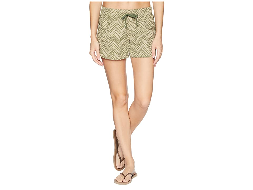 The North Face Class V Shorts (Four Leaf Clover Chevron Print) Women
