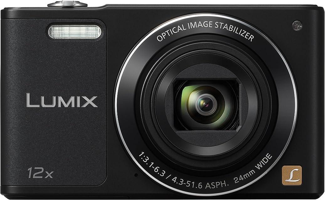 Panasonic Lumix DMC-SZ10 - Cámara compacta de 16 MP (Pantalla de 2.7 Zoom óptico 12x estabilizador óptico vídeo HD WiFi) Color Negro (versión importada)