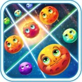 Match 3 Game - Galactic Burst - Games where you need to collect all the blocks and reach your targets
