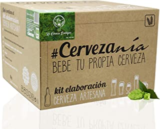 #Cervezanía - Kit de elaboración de cerveza artesana Pilsen Ale | Con certificado ecológico