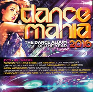 Dance Mania 2016 - The Dance Album Of The Year [2CD] 2016