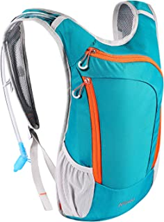 KUYOU Hydration Pack, Hydration Backpack with 2L Hydration Bladder Lightweight Insulation Water Pack for Running Hiking Riding Camping Cycling Climbing Fits Men & Women