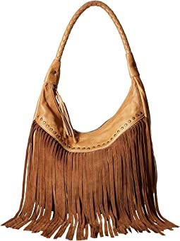 Oh So Soft Leather Fringe Bag
