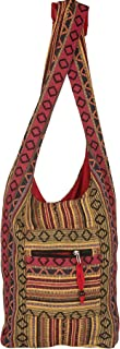 Tribe Azure Red Hobo Messenger Shoulder Bag Large Roomy School Sling Travel Camping Beach Cross body