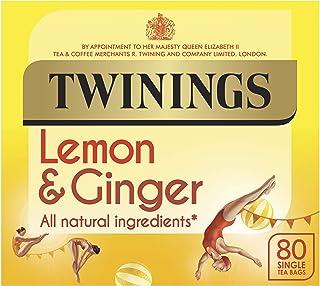 Twinings revive & revitalise Lemon & Ginger 80 Btl. 120g