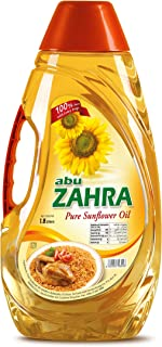 Abu Zahra Pure Sun Flower Oil - 1.8 Liter