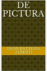 de pictura (Italian Edition) Kindle Edition