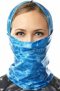 Aqua Design Face Mask for Women: UPF 50+ Motorcycle Ski Cover Balaclava Gaiter