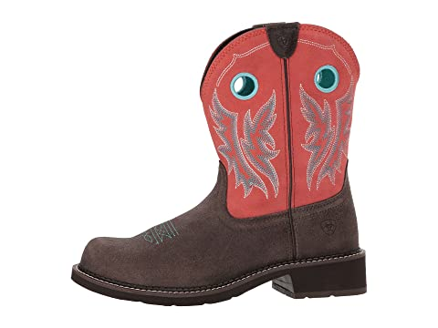 Ariat Fatbaby Heritage Cowgirl Chocolate/Coral Prices Online Enjoy Get Authentic Online Best Seller Cheap Online Cheap Sale Hot Sale ghynn