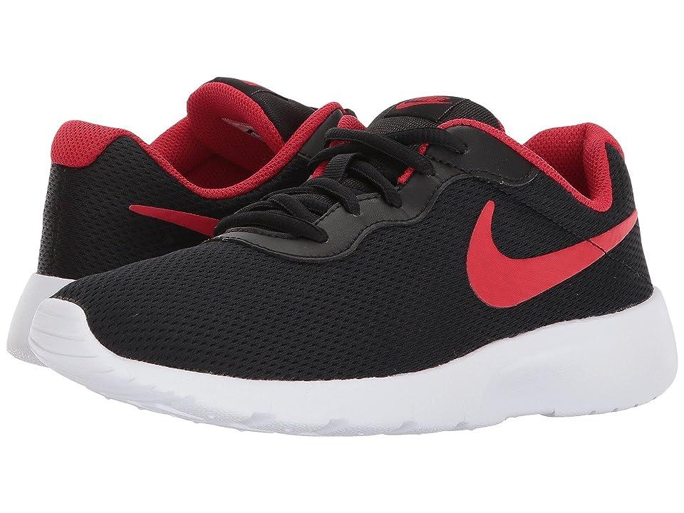 Nike Kids Tanjun (Big Kid) (Black University Red/White) Boys Shoes