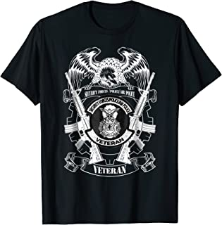 Security Forces Police Air Police Veteran T Shirt