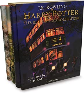 HP The Illustrated Collection Boxset HB: Three magical classics