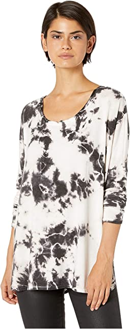 Shirttail Notch Front Tee