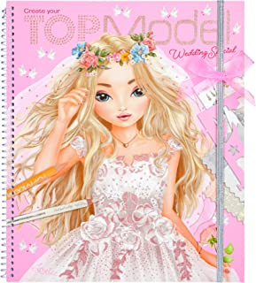 Top Model 0010200 – Colouring Book