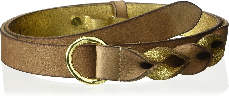 House of Boho Twisted PullBack 100% Leather Belt