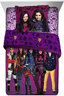 Disney Descendants Comforter Sham Set 2 pieces Twin Full Size