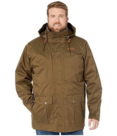 Columbia Big Tall Horizons Pine Interchange Jacket (Olive Green/Olive Brown) Men
