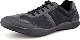 FeetScience Unisex Black School Shoes Champion 200