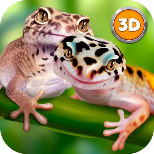 Leopard Gecko Lizard Evolution: Wildlife Survival Simulator