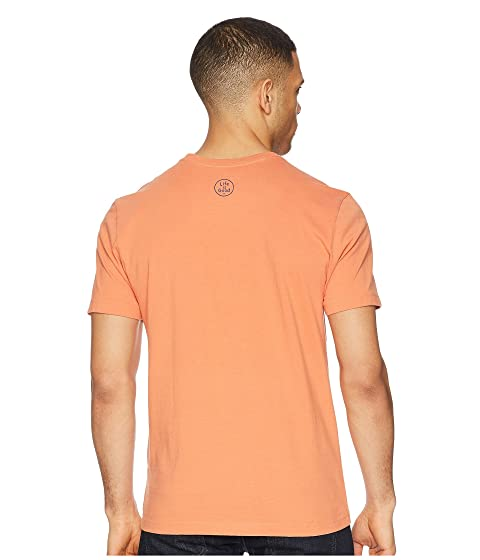 Cheap Real Finishline Life is Good Outdoor Coin Crusher Tee Sandy Orange Newest Cheap Online d0dwaXDMng