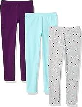 Amazon Essentials Girls' 3-Pack Legging