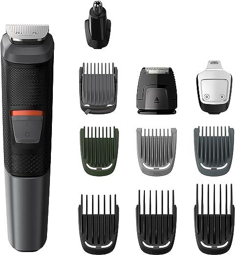 ماكينة الحلاقة فيليبس للرجال 11 في 1، للرأس، الوجه والجسم، أسود