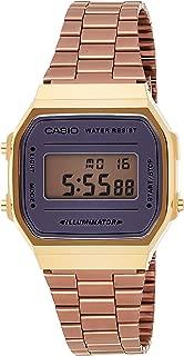 Casio Vintage Series Digital Brown Small Dial Unisex Watch - A168WECM-5DF (D157)