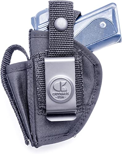 OutBags USA NSC31 Nylon OWB Outside Pants Carry Holster w/Mag Pouch. Family Owned & Operated. Made in USA