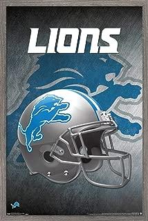 Trends International NFL Detroit Lions - Helmet Wall Poster, 22.375