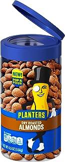 Planters Pop & Pour Dry Roasted Almonds (6.5 oz Jar)