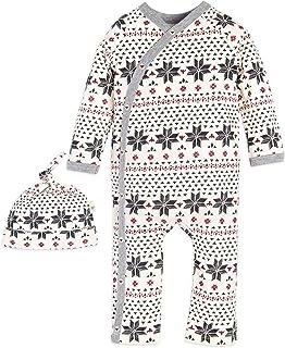 Burt's Bees Baby - Baby Girls' Romper Jumpsuit, 100%...