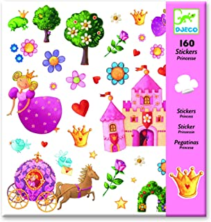 Djeco Princess Marguerite Stickers (160 pc)