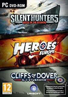 Ubisoft War Games Collection includes Silent Hunter 5, Heroes Over Europe and IL-2 Sturmovik: Cliffs of Dover (PC DVD) (UK IMPORT)