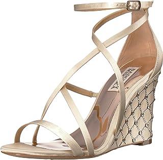 Badgley Mischka Women's Shelly Wedge Sandal