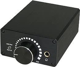 XtremPro Desktop USB DAC Headphone Amplifiers - Black (65003)
