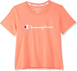Champion Kids Script Cropped Tee