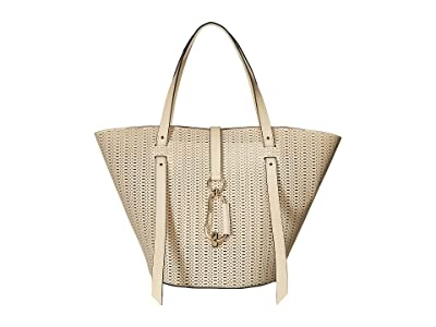 ZAC Zac Posen Belay Large Tote Perforation (Ivory) Tote Handbags