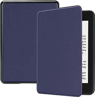 Kindle Paperwhite (第10世代) 用 ケース TopACE 超薄型 スマートケース スタンド機能付き 高級PU レザーケース Kindle Paperwhite (Newモデル) 対応 (ブルー)