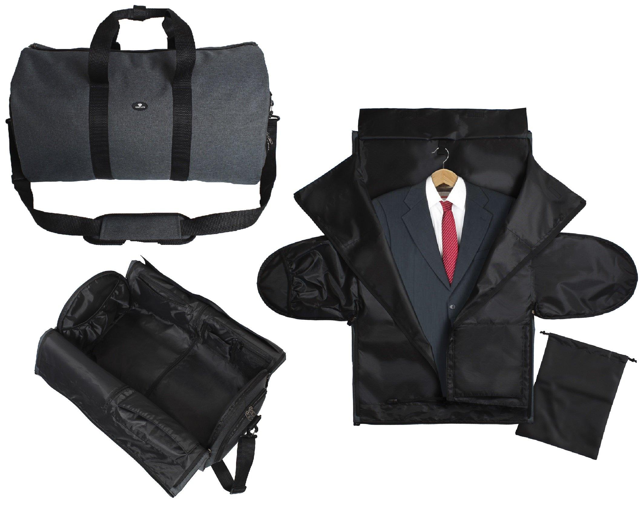 Slate Travel LinkSeal Mesh Shoe Bag Portable /& Waterproof with Zipper