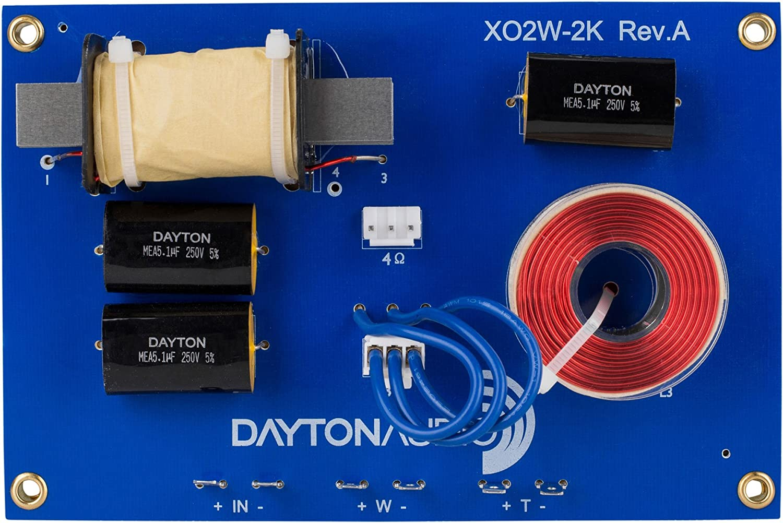 Dayton Audio XO2W-2K Bargain Chicago Mall 2-Way Speaker Crossover 000 Hz 2