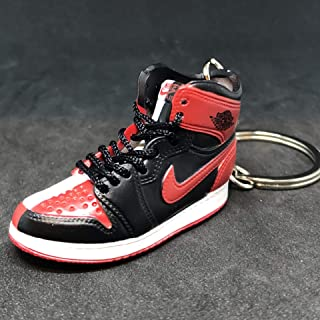 Air Jordan I 1 High Retro Homage To home OG NRG Sneakers Shoes 3D Keychain 1:6 Figure