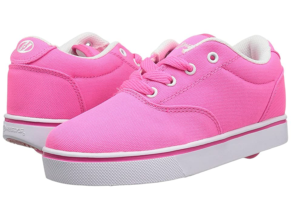 Heelys Launch (Little Kid/Big Kid/Adult) (Neon Pink) Kids Shoes