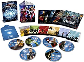 Marvel Studios Phase 1   USA Non-Compatible Product   Region - 2
